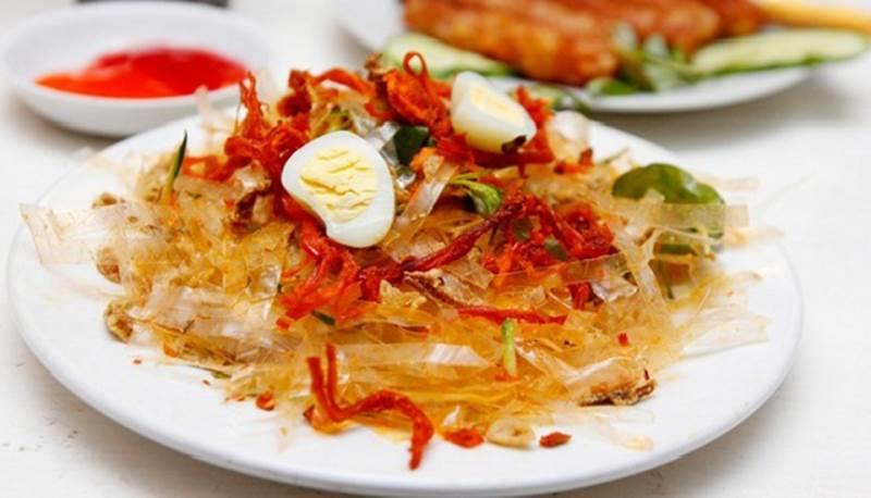 Bánh tráng trộn Sài Gòn