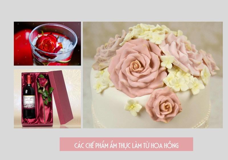 Các chế phẩm từ hoa hồng