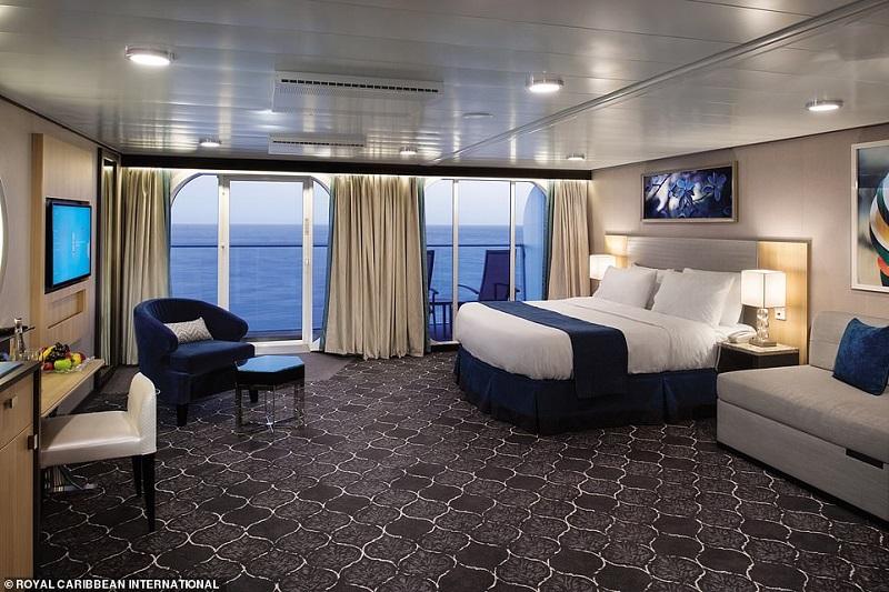 Căn nhà ở tàu Symphony of the seas